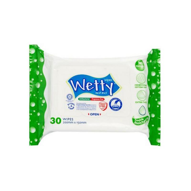 WETTY消毒濕紙巾30片