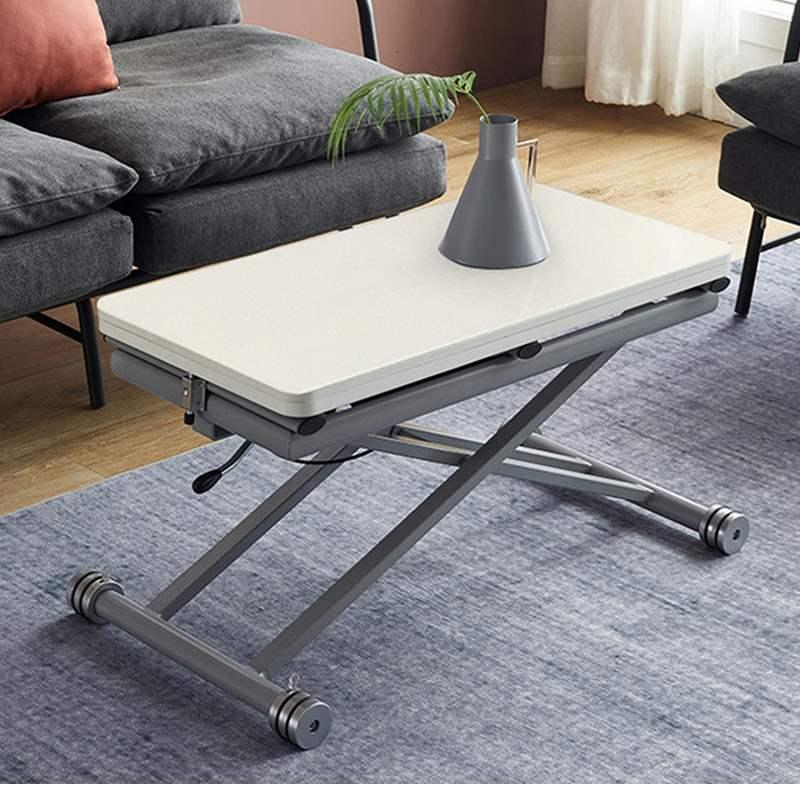 MR多功能茶機升降桌MR-N4_80 白色木紋 80CM