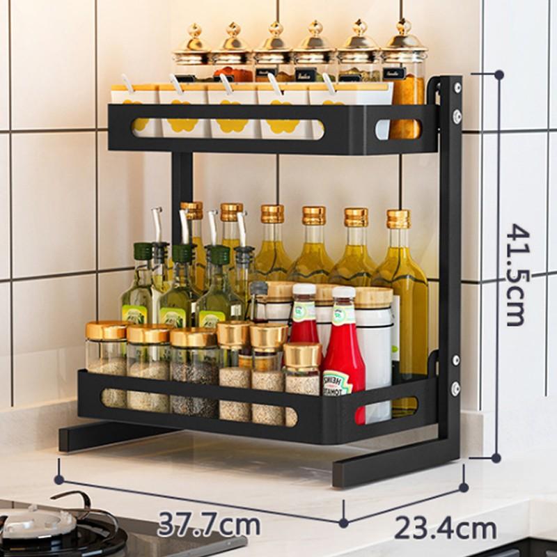 MR雙層廚房置物架調味儲物架H02A