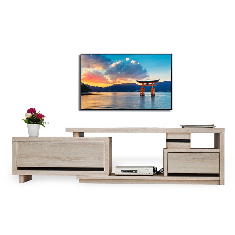 MR小戶型多功能伸縮電視櫃MR-TT1053木色 *1月25日後訂單, 2月23日開始陸續送貨