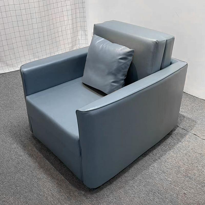 MR多功能可折疊帶儲物單人位梳化床 MR-9609 灰色