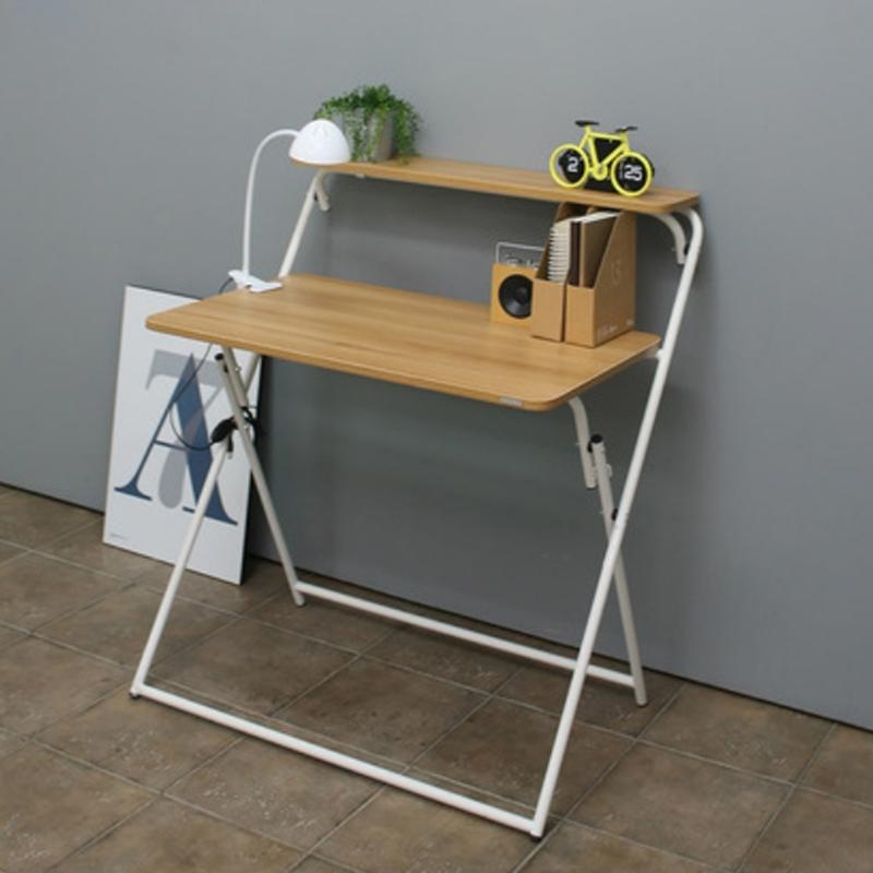 MR攜便式摺疊桌WT073-2白色