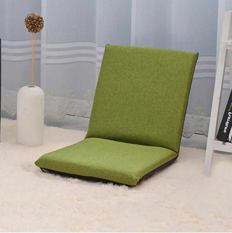 MR懶人可摺疊單人小沙發- 綠色