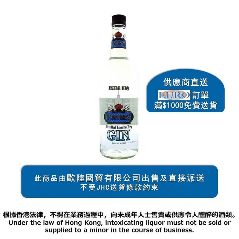 Potter'sLondon Dry Gin