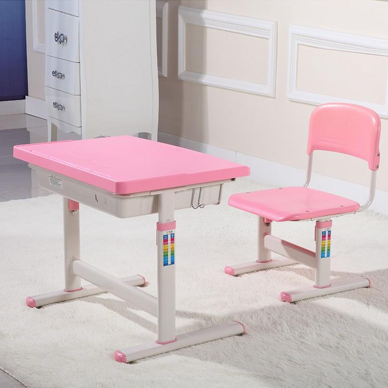 MR兒童可調節高度學習桌椅MR-905粉紅色