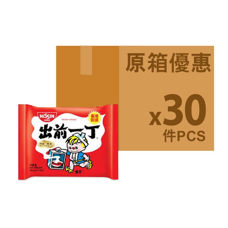出前一丁[原箱] 出前一丁麻油味即食麵 100g * 30包