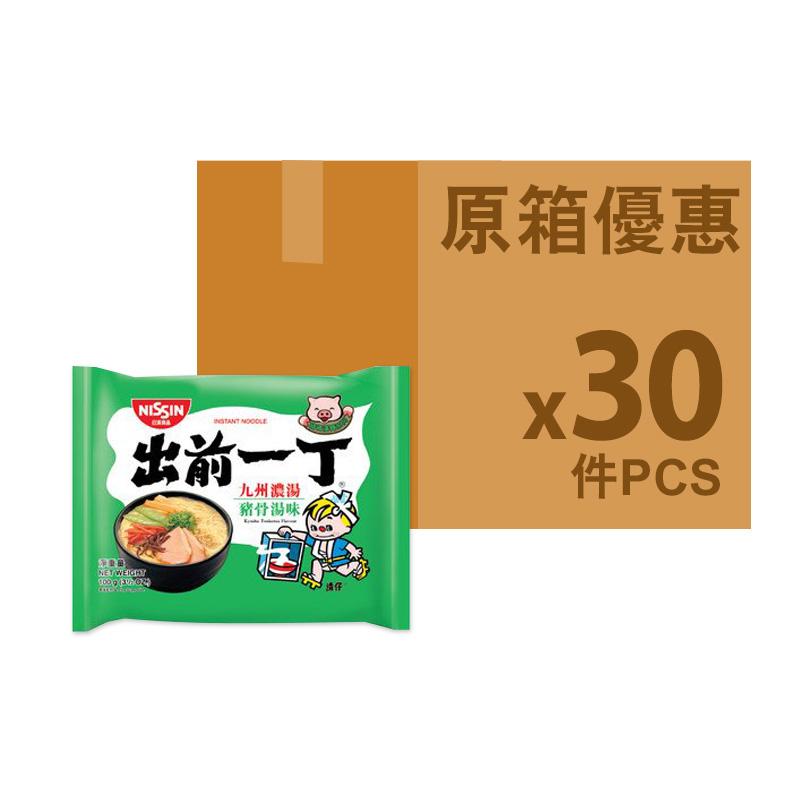 出前一丁[原箱]九州豬骨湯味即食麵100g *30包