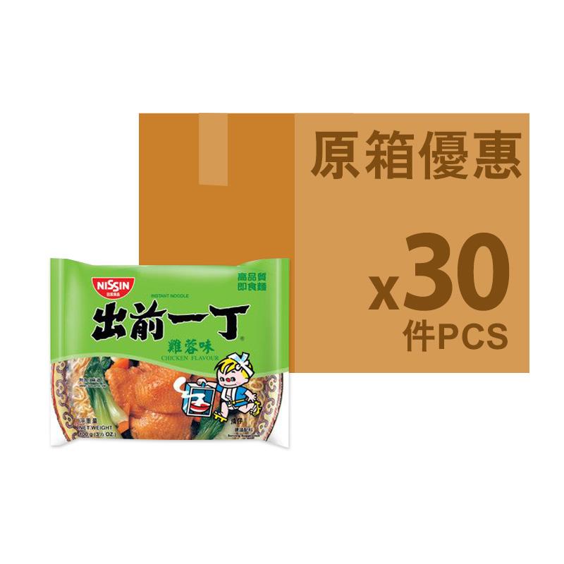 出前一丁[原箱]雞蓉味即食麵100g *30包