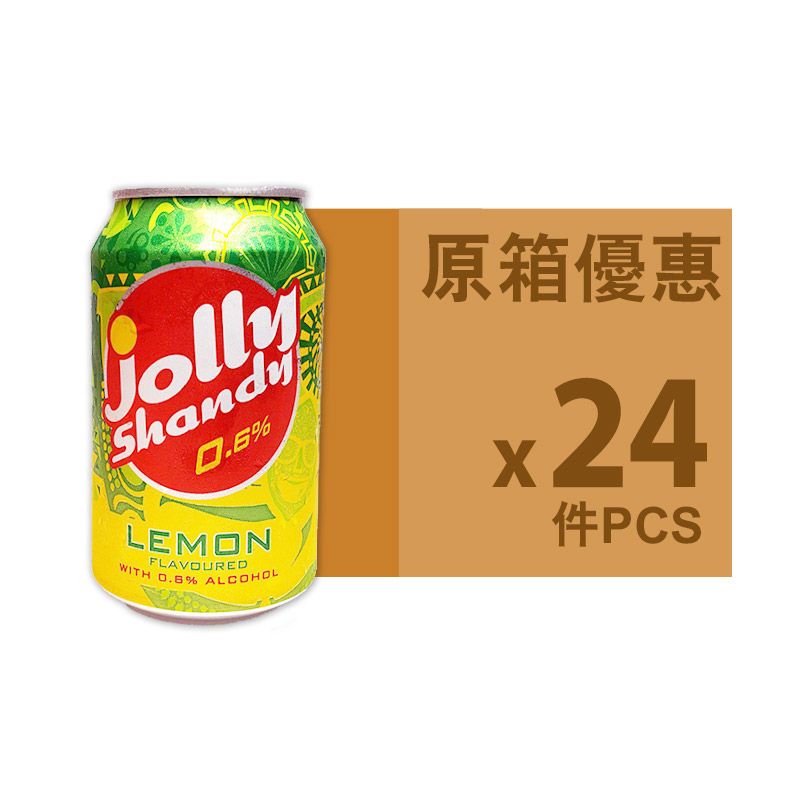 JOLLY SHANDY罐裝檸檬味330ml(原箱)