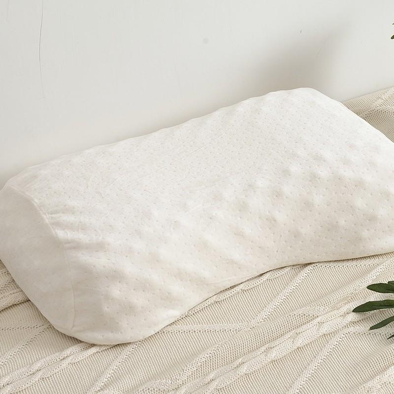 Aisuru乳膠枕頭成人護頸椎枕(曲線形)