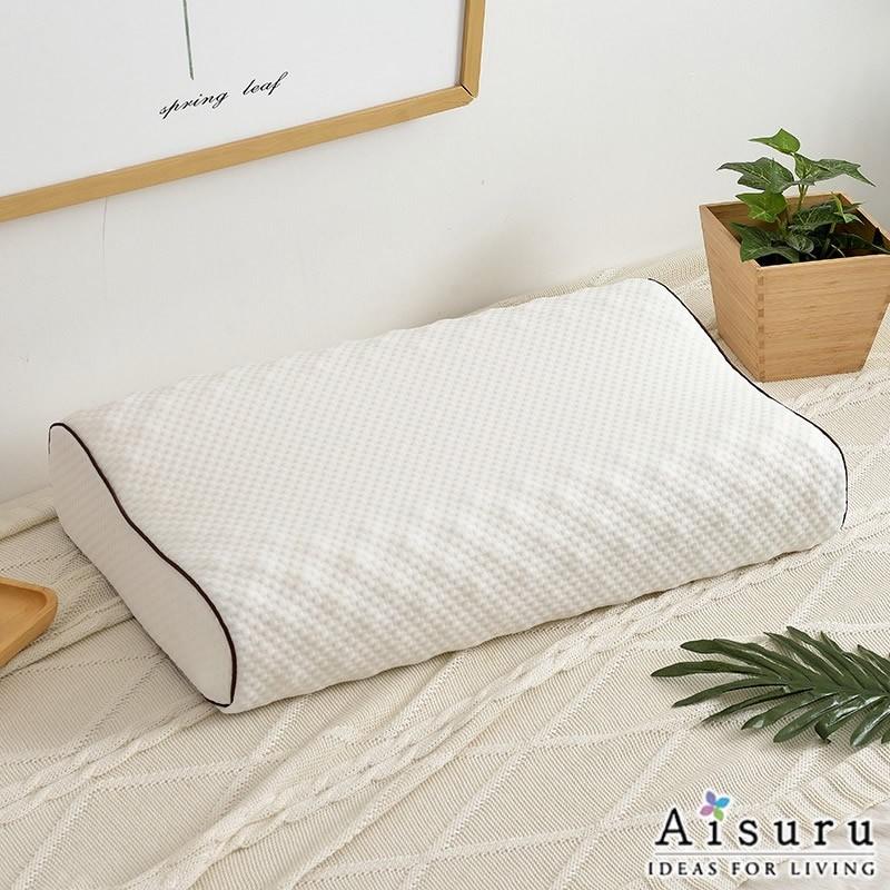 Aisuru乳膠枕頭成人護頸椎枕(長方形)