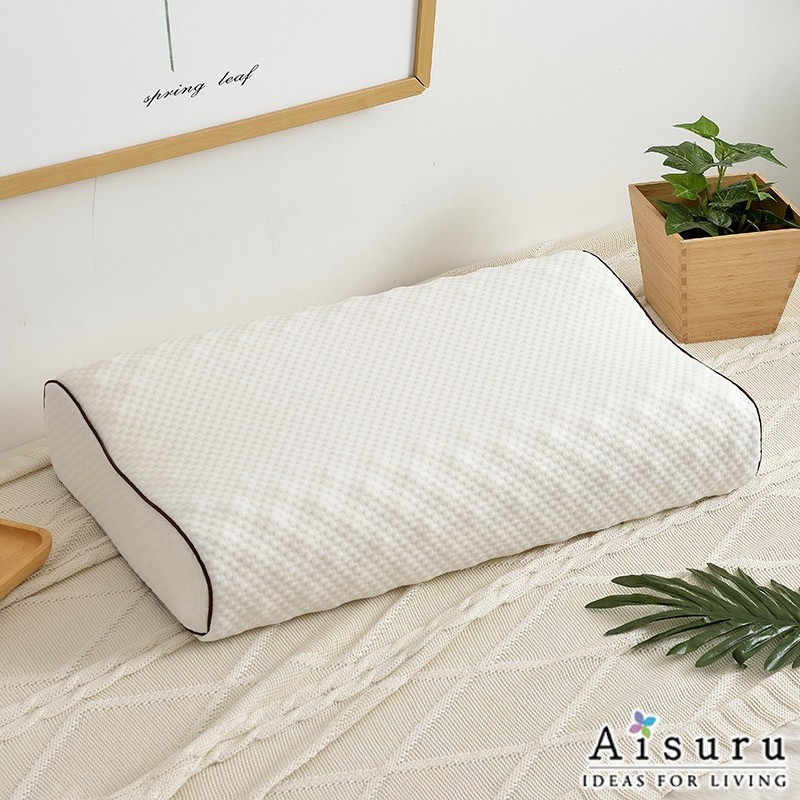 Aisuru乳膠枕頭成人護頸椎枕(長方形)  *供應商直送 限門市自取
